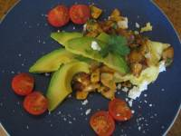 Mushroom & Onion Saute