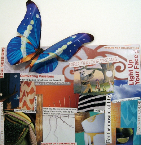Ali Schultz Butterfly Collage